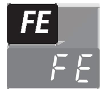 معنی ارور FE در لباسشویی الجی