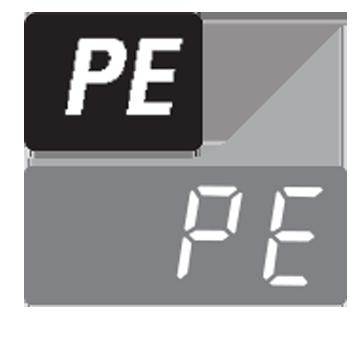 معنی ارور PE در لباسشویی الجی و روش رفع آن